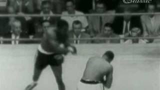 Sonny Liston vs Wayne Bethea (different camera view)