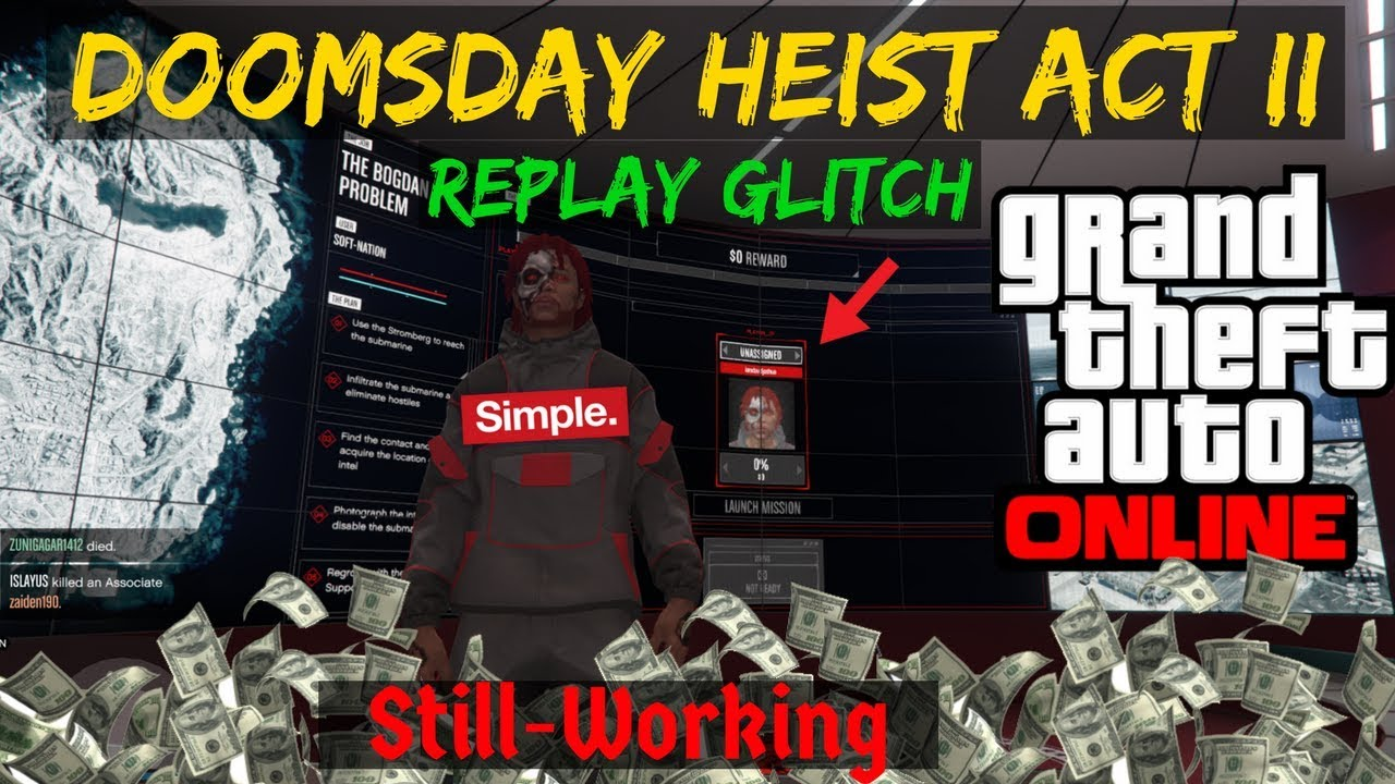 How To Replay Doomsday Heist Act 2