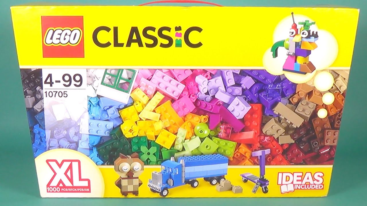LEGO Classic 10703 & 10705 Creative Builder Box - YouTube
