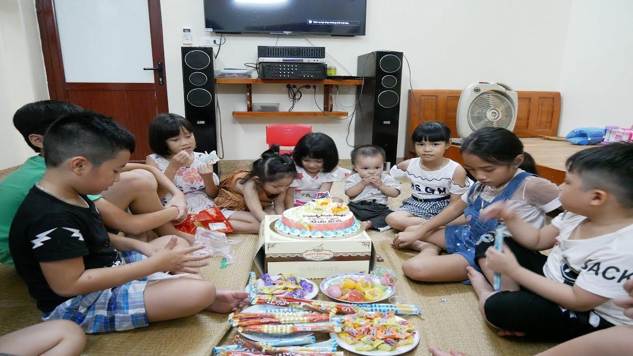 Kỉ Niệm Bữa Tiệc Sinh Nhật Của 2 Cháu Tiến Đức và Minh Thư - Ăn Lẩu và Cắt Bánh Kem - MN Toys