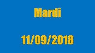TIRAGE EURO MILLIONS DU MARDI 11 SEPTEMBRE 2018 !