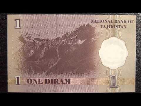 Таджикский сомони - курс к рублю, доллару и евро в