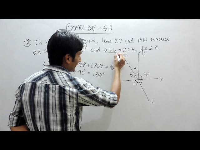 Exercise 6.1 (Lines and Angles) Question 2  NCERT/CBSE Solution for Class 9th Maths