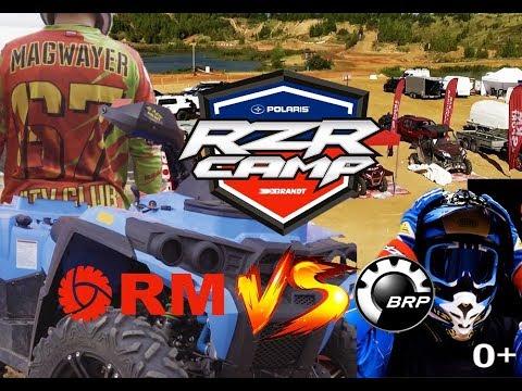 Квадроцикл РМ 800 DUO против BRP.  Финал RZR Camp 2019 Команда РМ Спорт Неожиданные результаты гонки