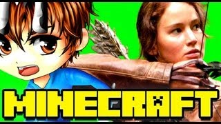 Minecraft CATCHING FIRE Hunger Games Map!