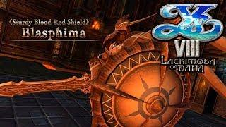 Ys VIII: Lacrimosa of Dana - Boss: Blasphima / Seren Garden