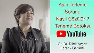 Terlemeye Çözüm | Terleme Botoksu 6 Ay Etkili | Op. Dr. Dilek Avşar #evdekal