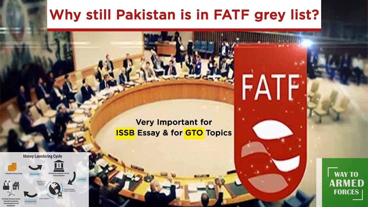 What's FATF || ISSB Essay II Why Pak Could not eliminate from Grey List