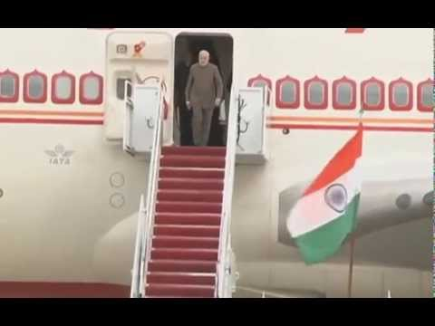 PM NARENDRA MODI  ARRIVES IN WASHINGTON DC | PMO