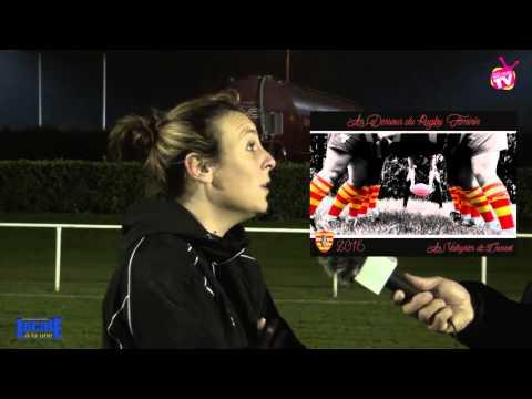 Locale a la une - club de rugby féminin LES VALKYRIES de Crussol