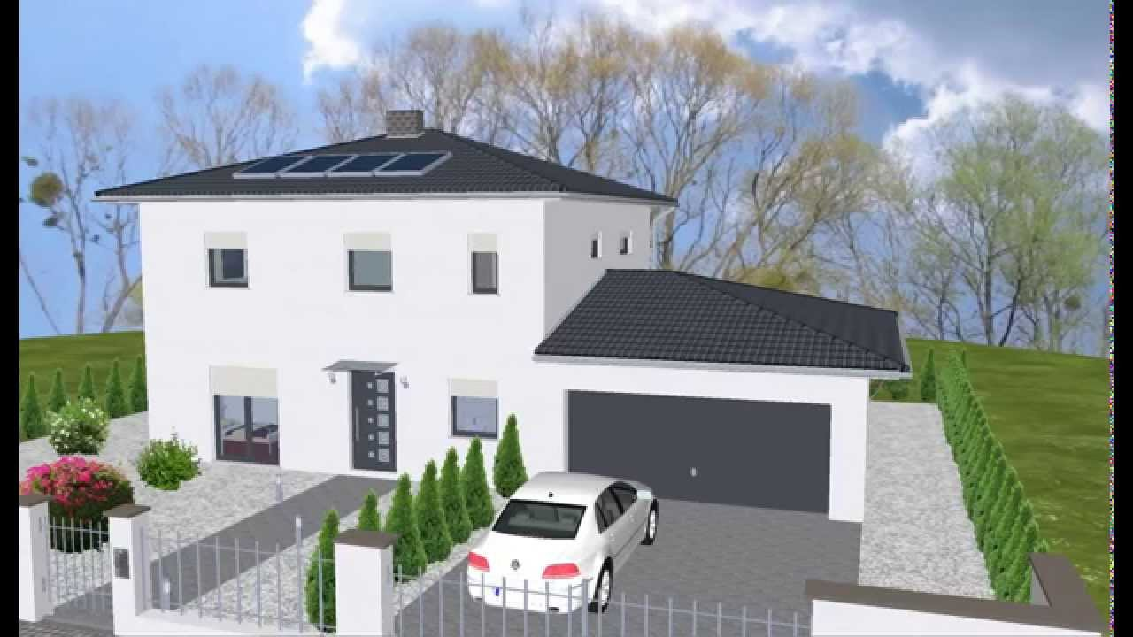 Wolfhaus wolf haus fertighaus bungalow grundriss for Piani di appartamento garage bungalow