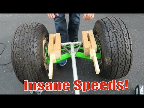 Thumbnail: WORLDS FASTEST HOVERBOARD! - 40 MPH HOVERBOARD?