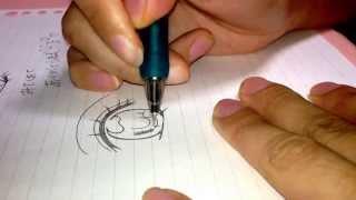 少女漫画の女の子の目の書き方。我流ですいません…意見やアドバイスよろ...