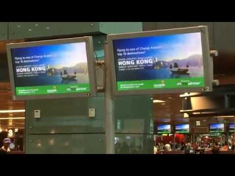 Changi Airport provides TripAdvisor destination guides to passengers