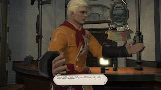 Final Fantasy XIV - Culinarian Quests from level 60 to 70