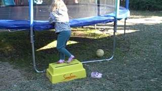 Safe Step Stool For Kids To Get On A Trampoline