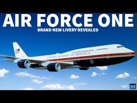 The New Air Force One Livery