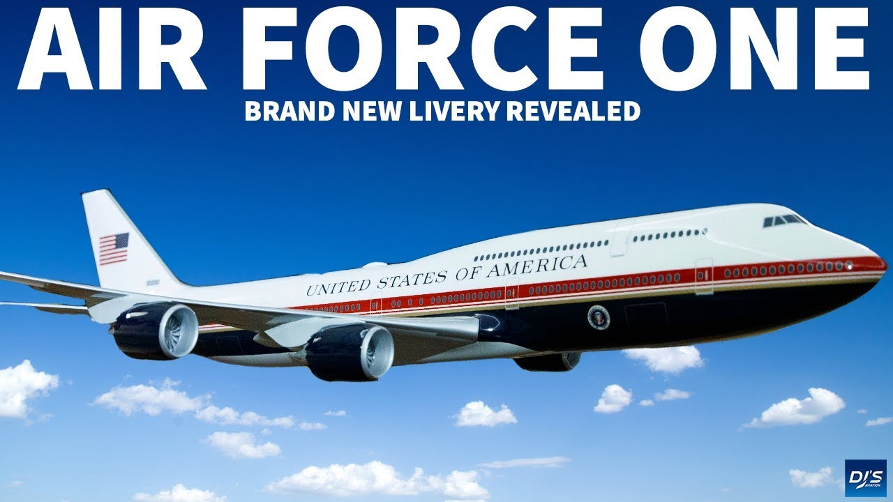 The New Air Force One Livery Youtube
