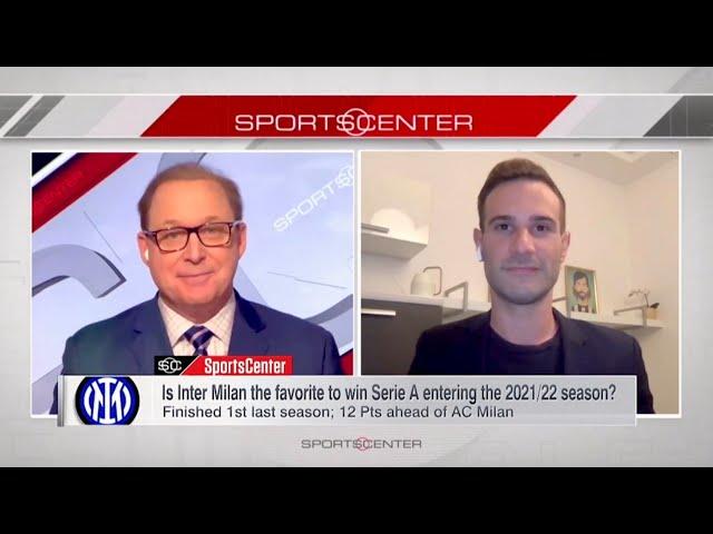 Adriano on ESPN SportsCenter (04/08/21)