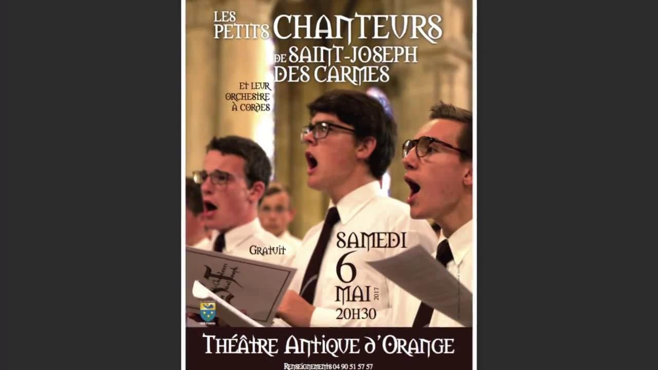Concert Petits Chanteurs Saint-Joseph-des-Carmes Orange 2017