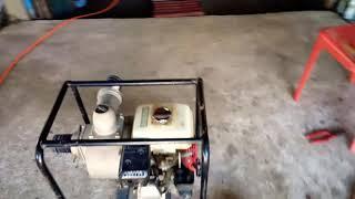ซ่อมเครื่องสูบน้ำ สตาร์ทไม่ติด Honda GX
