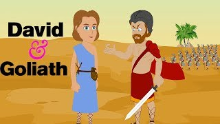 David And Goliath - The Bible Story for Kids - Children Christian Bible Cartoon Movie - Holy Tales