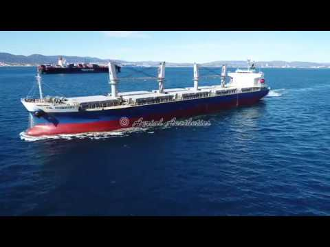 (Drone) Gibraltar - Maritime Operations