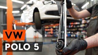 Kuinka vaihtaa takaiskunvaimentimet VW POLO 5 (612) -merkkiseen autoon [AUTODOC -OHJEVIDEO]