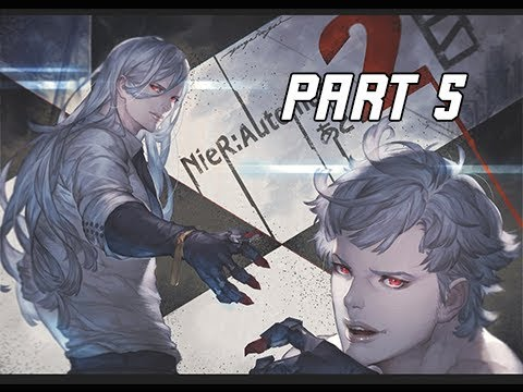 NIER AUTOMATA Walkthrough Part 5 - Adam and Eve (PC Let's Play Commentary)