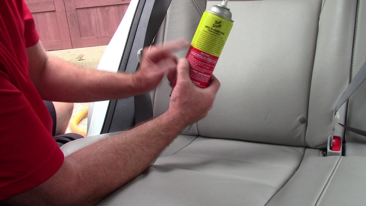 tuff stuff foam cleaner on car leather why youtube