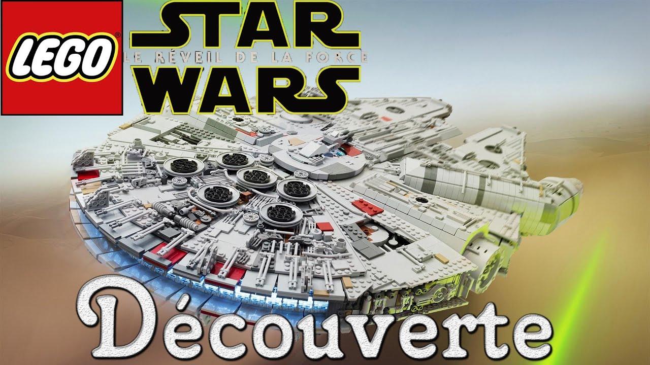 lego star wars dcouverte de la dmo petit massacre avec le faucon millenium fr 1080p