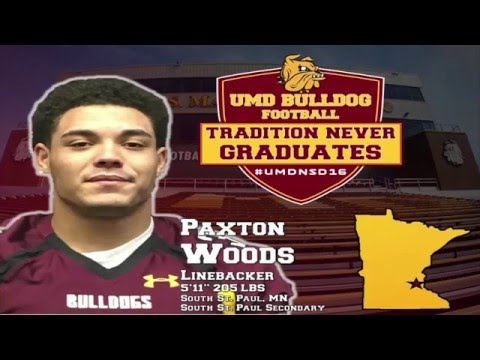 UMD Football National Signing Day 2016: Paxton Woods