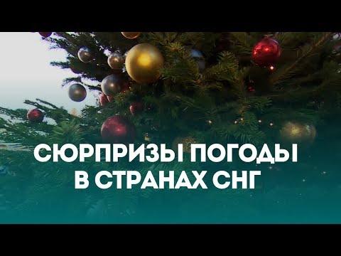 Погода на Новый год в странах СНГ. Спецвыпуск