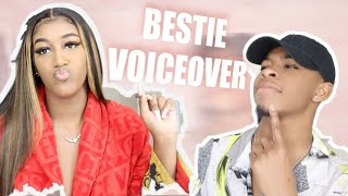 BOY BEST FRIEND DOES MY VOICEOVER!!😂 | VLOGMAS DAY 5