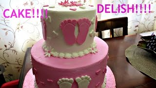 How to Make a Baby Footprint from Fondant