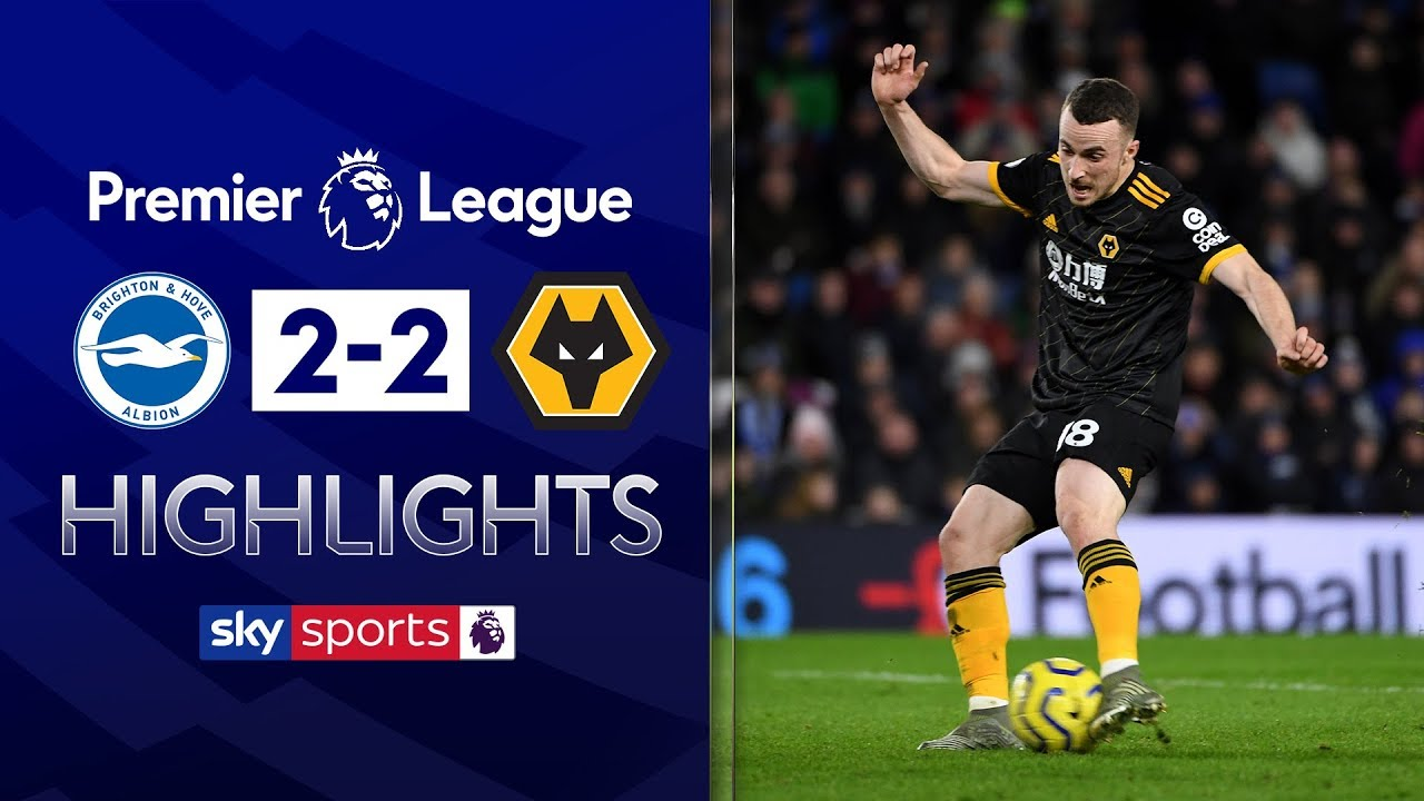 Brighton blunder gifts Wolves a point | Brighton 2-2 Wolves | EPL Highlights
