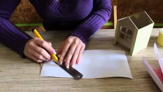 видео сказочный домик из картона своими руками фото