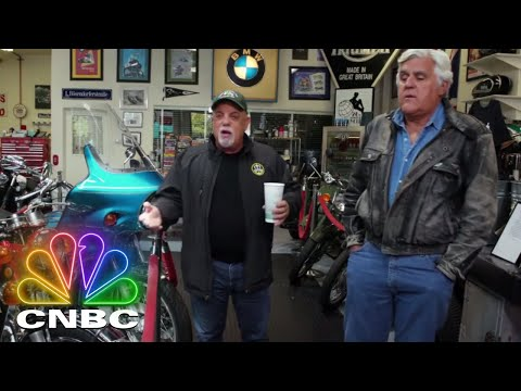 Don Action Jackson - Billy Joel Shows Off His Bikes On Jay Leno's Garage Wednesday Nite
