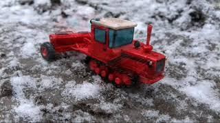 Урок.🚜Как сделать ☆Дт-75☆ из пластилина! Трактор из пластилина!