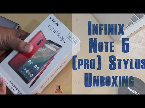 Infinix Note 5 Pro (Stylus) Unboxing, First Look and Quick Review