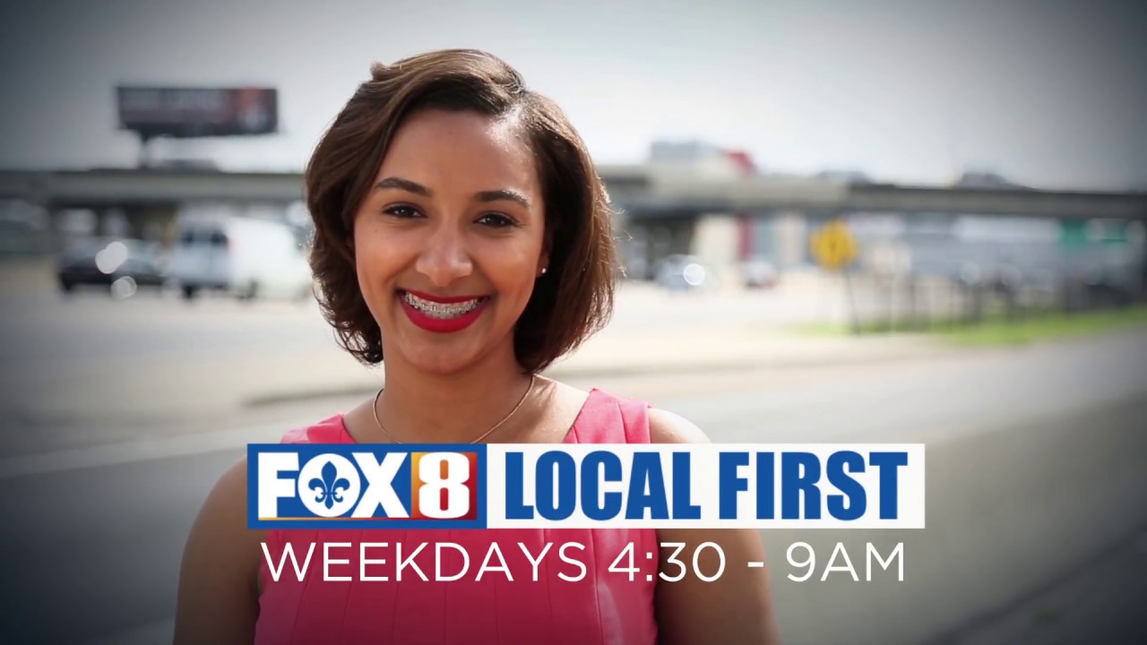 Traffic on Fox 8 Morning Edition is Local First :20
