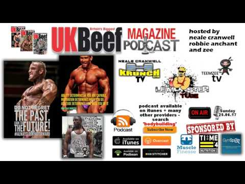 Episode 3 - How to rebound post contest: UK Beef Magazine Ultimate Bodybuilding Podcast .