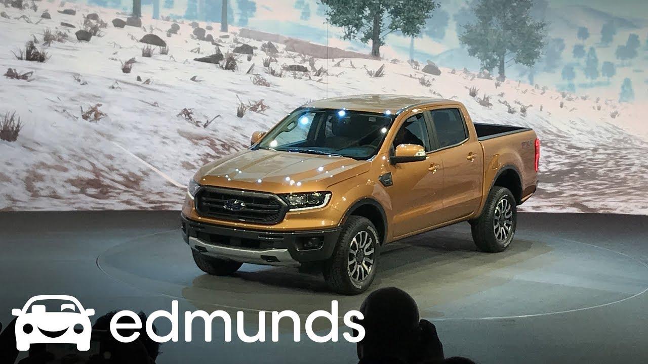 2019 Ford Ranger Pickup First Look | Edmunds