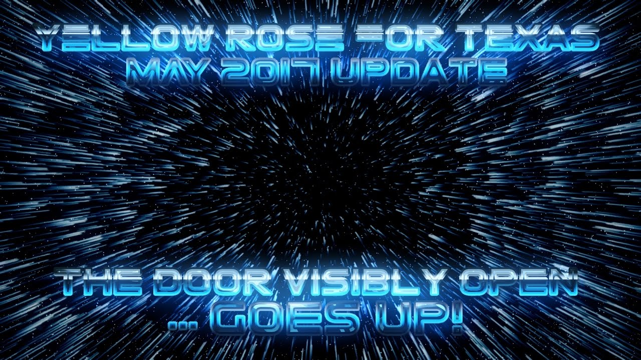 YRFT Update MAY 2017 - The DOOR Visibly Open ... GOES UP!