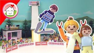 Playmobil Film deutsch - Skispringen mit Familie Hauser - Skisprung Kinderfilm