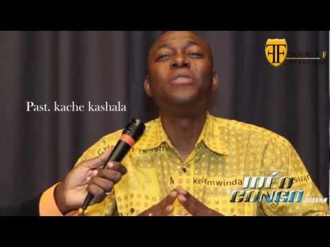 WIfi Connection (Ev. Billy Mashala) reçoit le Pasteur Kache Kashala.