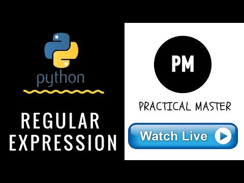 What is Regular Expression in Python |Python Tutorial