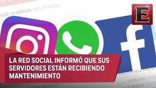 Se cae Facebook e Instagram