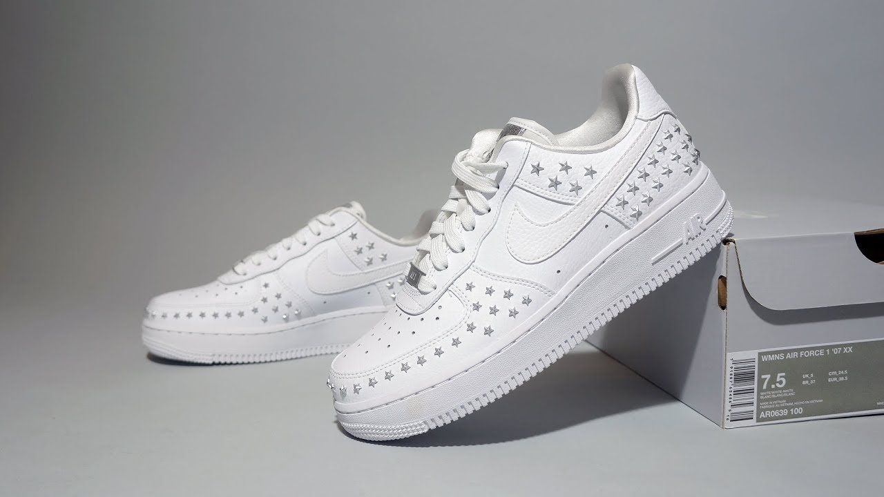 best authentic ae030 fedf7 Nike Air Force 1  07 XX Stars Pack AR0639-100
