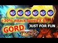 GORD FULL ASPD 6X FEATHER OF HEAVEN (+30% ASPD)
